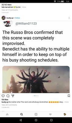 Wow Benedict is a legend