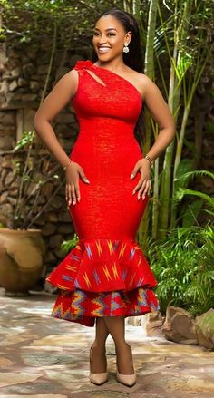 African fashion dress By Diyanu - African Plus Size Clothing at D'IYANU African Dresses For Kids, Latest African Fashion Dresses, African Print Dresses, African Print Fashion, African Wedding Attire, African Attire, Ankara Mode, Moda Afro, African Print Dress Designs
