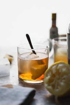 My go to whiskey drink recipe! Simple, easy, and I always have the ingredients in my pantry! I'll be making these for the next winter gathering we have.