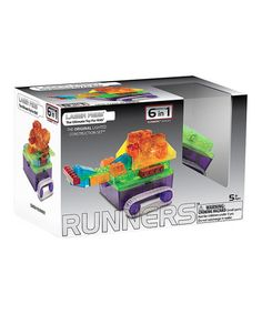 Look at this #zulilyfind! Tank Runner Light-Up Building Set  http://www.zulily.com/invite/pwelborn132