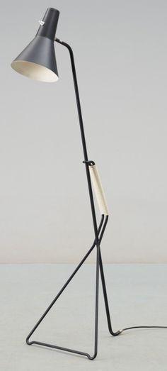 ASEA floor lamp, Sweden.   Similar to ?