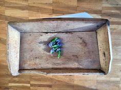Holzmolle Trog Holz Schüssel Molle Antik Original Historisch Shabby Chic  | eBay