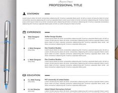 Resume template instant download resume template wordresume | Etsy Teaching Resume Examples, Sales Resume Examples, Resume Objective Examples, Hr Resume, Nursing Resume, Resume Help, Resume Action Words, Resume Words, Dance Resume