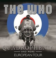 fm concert page for The Who: Quadrophenia and More at Oracle Arena (Oakland) on Feb. Discuss the gig, get concert tickets, see who's attending, find similar events. Rock Posters, Concert Posters, Music Posters, Band Posters, Film Posters, Mafia, Rock Festival, Df Mexico, Classic Rock