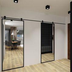 Slidding Door, Home Kitchens, Tiny House, Master Bedroom, Doors, Dressing, Decorating, Furniture, Birthday