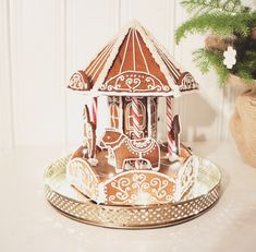 It's time for some Christams Baking - here are some creative Gingerbread House ideas. Be inspired by everything from gingerbread cookies to villages. Gingerbread House Template Printable, Gingerbread House Patterns, Cool Gingerbread Houses, Gingerbread Village, Christmas Gingerbread House, Christmas Cookies, Gingerbread Icing, Homemade Gingerbread House, Christmas Baking
