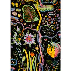 Fabric 'Hawaii', Josef Frank