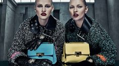 KATE MOSS AND LARA STONE BY STEVEN KLEIN FOR BALENCIAGA FALL-WINTER 2015-2016 AD CAMPAIGN • WMN ISSUE