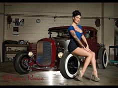 Hot Rods - Maroon colored hot rods   The H.A.M.B.