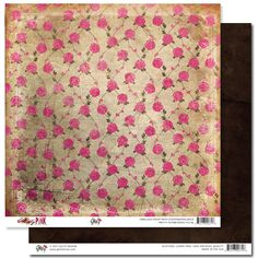 """Pretty in Pink """"Roses"""" paper"""