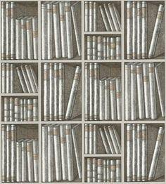 Cole amp son libris maximus by fornasetti wallpaper