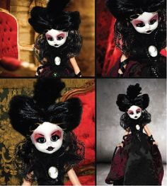 Lady Darla #Gothic doll