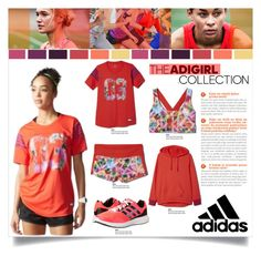 adiGIRL Style Contest Entry by carlavogel on Polyvore featuring polyvore, fashion, style, adidas and adigirl