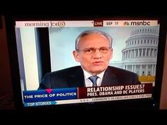 "Bob Woodward discusses his observations of the current state of our Government.  ""The Price of Politics"""