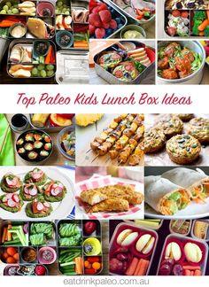 Top Paleo Kids Lunch Box Recipes & Ideas