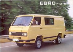 furgoneta Ebro Retro Cars, Vintage Cars, Culture Club, Commercial Vehicle, Camper Van, Cars And Motorcycles, Nostalgia, Cool Cars, Transportation