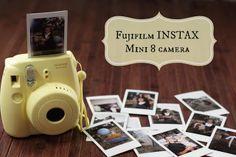 PR Friendly Mom Blogger -MomsReview4You: Fuji Film Instax Mini 8 Camera Review