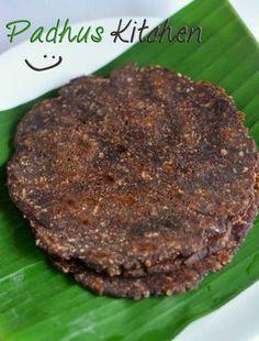 Padhuskitchen: Ragi Sweet Adai-Instant Kezhvaragu Adai-South Indi...