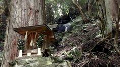 Setsumatsusha - https://en.wikipedia.org/wiki/Setsumatsusha - at O-no Taki Waterfalls.