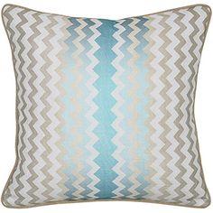 Newport, Blue Pillow $85.00
