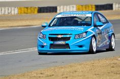 The Williams Hunt Chevrolet Cruze in action at Phakisa raceway