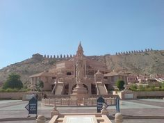 Nareli Jain Temple, is a new Jain temple located on the outskirts of Ajmer 7 kilometers from the city center and 128 kilometers west of Jaipur on the main national highway 8.