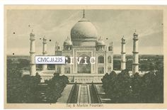 Taj Mahal, Lal Chand & Sons, Photographers Dariba, Delhi, printed in Saxony.