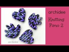 ▶ Tutorial   Polymer Clay   Knitting fimo   due - la vendetta!   DIY Clay Knit Effect - YouTube