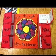 Figurative Language foldable - Re-pinned by @PediaStaff – Please Visit http://ht.ly/63sNt for all our pediatric therapy pins