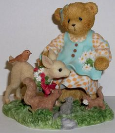 Cherished Teddies Monique Figurine NEW # 114126 True Friends Stay Canadian Excl.