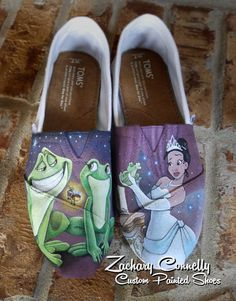 Princess and the Frog Toms by ZacharyConnellyArt