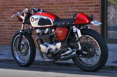 Honda CB450 cafe racer = so sexy! Description from realthinktank.com. I searched for this on bing.com/images