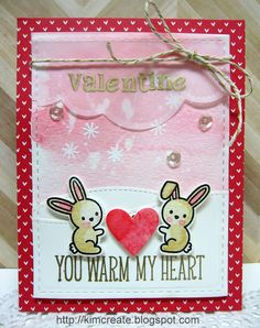 Lawn Fawn - Snow Day, Riley's ABCs, Puffy Cloud Borders, Stitched Hillside Borders, Let's Polka in the Dark, Gold Sparkle Lawn Trimmings _ super sweet Valentine by Kim at Kim'sCards&Crafts: Lawnscaping 122
