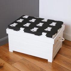 Cosy Hippo – skrzynia na zabawki - ZuuBr - Pojemniki na zabawki