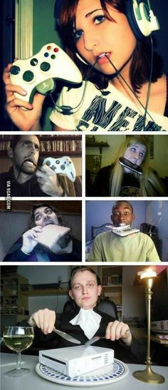 """Funny pictures about How """"gamer girls"""" look like. Oh, and cool pics about How """"gamer girls"""" look like. Also, How """"gamer girls"""" look like photos. Funny Cute, The Funny, Daily Funny, Super Funny, Gamer Girl Problems, Laughing So Hard, Funny Posts, Laugh Out Loud, I Laughed"""