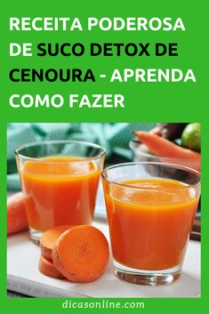 Suco Detox de Cenoura: com abacaxi, laranja e salsa Nutrition, Cantaloupe, Diabetes, Natural Remedies, Smoothies, Paleo, Vegan, Fruit, Fitness