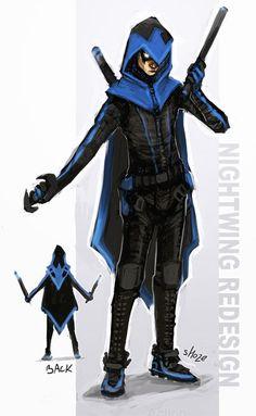 Damian Wayne as Nightwing
