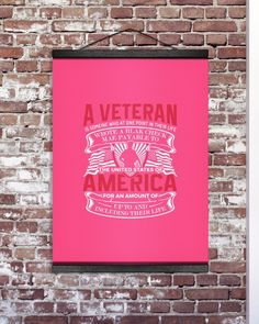 A Veteran America Is Someone Who At One Point - Cyber Pink veterans day printables, veterans day art projects, kindergarten veterans day #VeteransDayParade2017 #veteransdayrelays #veteransday2015, dried orange slices, yule decorations, scandinavian christmas Veterans Day Poem, Veterans Day Thank You, Veterans Day Activities, Veterans Day Celebration, International Day Of Peace, Hanging Canvas, Yule Decorations, Orange Slices, Scandinavian Christmas