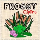 Free! Enjoy!  Hand drawn, computer enhanced images will add some froggy pizzaz to your commercial and classroom needs! Whether you want to make nam...