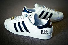 "Run DMC ""My adidas"" 25th Anniversary Superstar 80s"