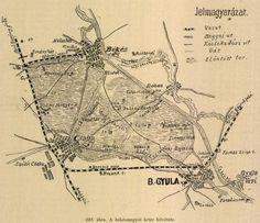 Békéscsaba, régi Vintage World Maps