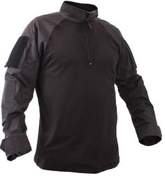 """- Made For Comfort, Worn For Protection - Gusseted Sleeves - Zippered Sleeve Pockets - 4"""" x 6"""" Loop Attachments on Both Sleeves for Name, Rank, Flag, etc - Anti Abrasion Elbow Patches - 50% Nylon / 50"""