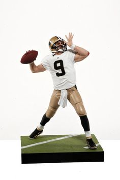 58b11350cb0 Drew Brees Seroes 31 Action Figure. Skyhook Toys · NFL Action Figures
