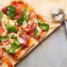 Arugula Salad Pizza