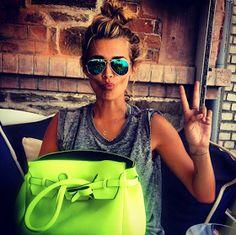 neon purses