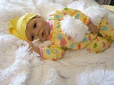 Angelic OOAK Reborn Infant Girl by BevsBurlapAndBeyond on Etsy.