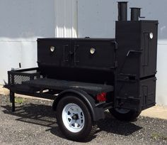 BBQ Smoker on Trailer