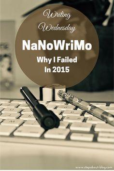 Why I failed NaNoWriMo in 2015
