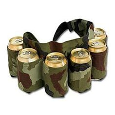 Redneck Beer and Soda Can Holster Belt, Camouflage by Fairly Odd Treasures, http://www.amazon.com/dp/B00AUBPYW8/ref=cm_sw_r_pi_dp_p3c3rb1J7WGSB
