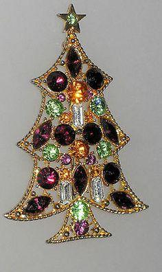 Large Vintage (Rare) Eisenberg Ice Christmas Tree